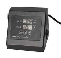 produtos químicos laranja Desconto Novo design Duplo Display110V / 220 v imprensa do calor controlador de Temperatura digital para a máquina da imprensa do calor