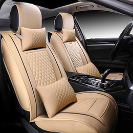 Wholesale Car Seat Covers Sets - XWSN Special leather car seat cover for Dodge all models Journey Challenger car accessories auto styling
