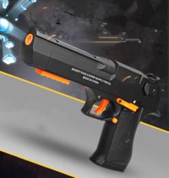 Wholesale gun toy new - 2018 New Desert eagle blaster gun toy gel ball pistol gun toy