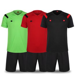 a3136b897 Welcome!3 Color New football referee suit short sleeves men s and women s  match solid color football referee kit