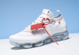 Wholesale Winter Casual Shoes For Women - 2018 New Authentic Quality for x Presto Men Women Casual Running for air shoes VaporMax 2.0 White black color Sport Shoes AA3831-100
