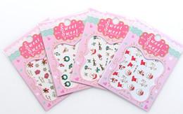 etiquetas livres do prego Desconto DHL livre 24 Pçs / lote 3D Designs de Natal Nail Art Sticker Decalque Da Folha Adesiva Manicure Dicas Decoração de Unhas Ferramentas de Maquiagem