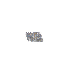 Letters Hard Times Enamel Pin Badge Novelty Brooch Lapel Pin Brooches Badge  Jewelry Funny Cute Pins Accessories