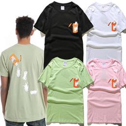 Wholesale Printing Items - Summer hot item mens tshirt kanye west Cotton cat casual men Women tshirt Hip Hop short sleeve