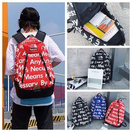 Sup The N F Mochilas unisex Mochila casual Bolsos de estudiante Bolsas de viaje 3 colores Mochila de gran capacidad desde fabricantes