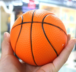 Wholesale Basketball Big Kids - Squishy Basketball 9cm Jumbo Squishiies PU Simulation Sports Ball Slow Rising Phone Charm Decompression Scented Squeeze Boy Kids Toys Gifts