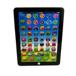 Wholesale English Learning Toy - Tablet toy English Russian Language Learning Machine Educational Toy Russian Alphabet Baby Touch Tablet Toy Learning Machines