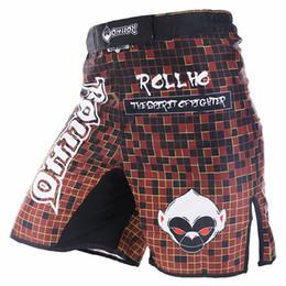 Soft monkey ROLLHO tai boxing MMA sports MMA pantaloncini da combattimento sanda wulin trasmissione del vento per la primavera fitness uomo corrente da