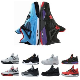Scarpe da pallacanestro sconti online-Nuovo all'ingrosso Scarpe da basket Raptors Pure Money Bianco Cemento Bred Fire Red Jack scarpe da uomo Sport scarpe firmate trainer zapatos discount