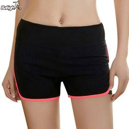 Wholesale Fly Sportswear - Wholesale-Balight Women's Sports Shorts Breathable Running Yoga Fitness Loose Cotton Shorts Elastic Waist Sportswear