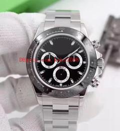 Mechanischer stil kunst online-6 Art und Weise Qualitäts-Uhr 40mm Asien-Bewegung Cosmograph 116506 116520 116509 116500 116500LN keine mechanischen automatischen Männer Uhren