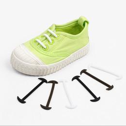 De gros! 12pcs / Set élastique sans lacets lacets en silicone lacets de chaussures pour enfants grand cadeau ? partir de fabricateur