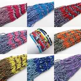 brasilianer armbänder Rabatt ABL0303 (10), Dünne Brasilianische Günstige Bunte Regenbogen Handarbeit Thread Weave Woven Geflochtenen Seil String Strang Freundschaftsarmband