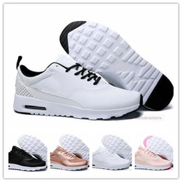 new styles b41bb 175c9 nike air max Original Hommes Femmes Thea 87 Sport Trainers Mode Hommes  Designer Sneakers Chaussures 90 Chaussures De Course Presto Taille 36-45  chaussures ...