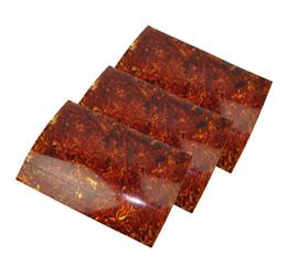 3шт А4 размер 0.46 мм жемчуг коричневый Целлулоид лист 210х297мм за накладку пользовательские вставками медиатор Luither от