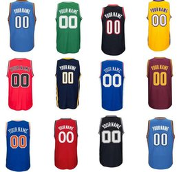 Wholesale Print Basketball Jersey - 2016 Free Shipping,Personalized or Customized men's basketball jerseys,print Custom any player name and number,Embroidery and Sewing logos