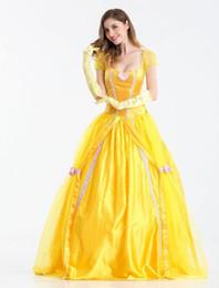 Disfraces de halloween blanco como la nieve adultos online-disfraz de halloween falda blanca nieve mujeres fantasia princesa fiesta de carnaval adulto juego de rol disfraz