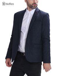 Wholesale Fit Suite - Hoffen New Fashion Casual Men Blazer Jacket Two Button Mens Slim Fit Suit Jacket blazer masculino 2017 Spring Male Suite JB-DARO