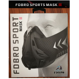 Wholesale Sports Training Equipment - New Running Training Masks Outdoor High Altitude Training Conditioning Sport Mask 2.0 Fitness Equipment Dustproof Mouth-muffle