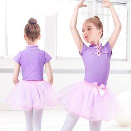 2019 vêtements fille chinoise 2 PCS Chinois Style Ballet Dress Filles Justaucorps Jupe Ballet Costume Enfants Classcial Robe De Danse Vêtements De Danse vêtements fille chinoise pas cher