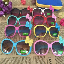 Wholesale Kids Accessories Boys - Kids Sunglasses Girls Glasses Baby Bow Eyewear kids cute bow children glasses girls boys accessories KKA4066