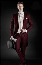 Argentina Tamaño personalizado, traje de hombre guapo, personas que se casan con el traje de novio para hombre jeans ajustados, traje de fiesta, traje a medida (chaqueta + pantalón + chaleco) Suministro