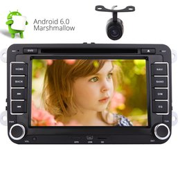 2019 golf gps telefonieren 7 '' android 6.0 kopfeinheit doppel din auto dvd stereo für jetta golf passat gps telefon link autoradio bluetooth wifi