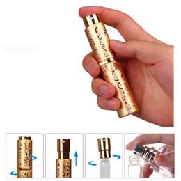 bouteille de pompe à perfusion rechargeable Promotion 10ML Vide Voyage Mini Portable Parfum Parfum Atomiseur Bouteilles De Pulvérisation Cosmétiques Conteneurs pour Spray Scent Pump Case