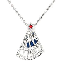 Árbol de Navidad de plata Rhinestone Difusor de aceite esencial Medallón Perlas de aromaterapia de las mujeres Perla Collar de la jaula de ostra Pendant-Boutique regalo desde fabricantes