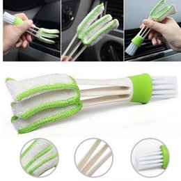 Wholesale Pocket Keyboard - Pocket Brush Keyboard Dust Collector Air-condition Cleaner Computer Clean Tools Window Leaves Blinds Cleaner Duster OOA4689