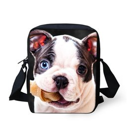 Argentina Diseños ruidosos Perros Messenger Bags Hombres Shoulder Bag Bolso cruzado para bolsos Boy Cute Dog Crazy Fashion Style Messenger Bags cheap crazy boys Suministro
