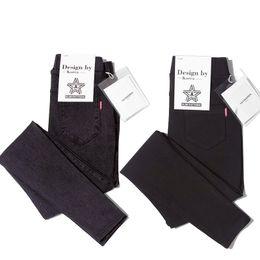 Wholesale Cheap Women Jeans Pants - B1678 spring autumn 2017 new version Korean edition women fashion simple pencil slacks jeans cheap wholesale