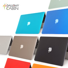 Wholesale Retina Laptop - DallowyCabin NEW Crystal Hard Case Cover For Macbook Mac book 11 13 15 Air Pro Retina 11.6 12 13.3 15.4 inch Laptop Cases