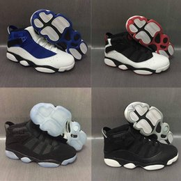 Wholesale Best Sale Ring - Free Shipping Wholesale Cheap online hot Sale New Best basketball shoes 6 VI RINGS Carmine Sneaker Sport Shoe VI US 7-11