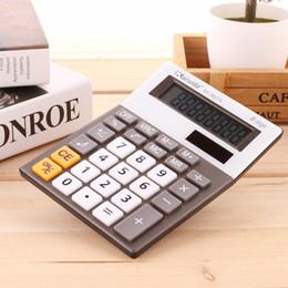 2019 moda financeira Calculadora de 8 dígitos, calculadora eletrônica do escritório da bateria da exposição do LCD da calculadora do Desktop para a escola da contabilidade financeira