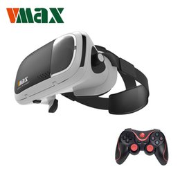 2019 controlador de juegos bluetooth android RITECH VMAX Virtual Reality Glasses Support 4.7-6.0