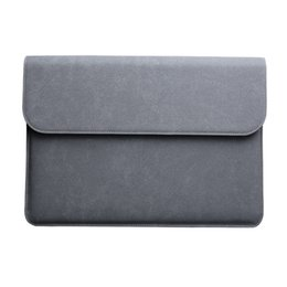 Wholesale Covers For Hp Laptops - Laptop bag Laptop sleeve for macbook air 12 13 15 case For Asus Dell Acer Hp Xiaomi Notebook Sleeve Waterproof Matte Cover