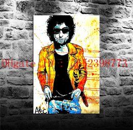Wholesale Bob Animals - Alec Monopoly Bob Dylan,Home Decor HD Printed Modern Art Painting on Canvas (Unframed Framed)