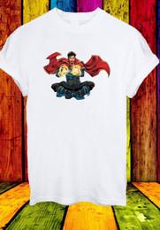 Doctor Stephen Vincent Strange Dr. Superhero Película Hombres Mujeres Unisex Camiseta 831 desde fabricantes