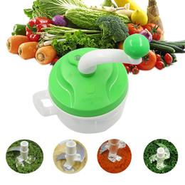 Multifuncional Vegetal Cortador de Mão Rápida Chopper Spiral Slicer Triturador de Frutas Slicer Crusher Grater Cozinha Ferramentas de