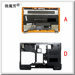 Wholesale Hdmi Cover - New For Lenovo Y570 Y575 LCD Back Cover + Bottom Base Cover Case AP0HB000820 ACBAS0017B with graphic card switch with HDMI