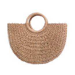 3964f727e045 Новый 2018 летняя пляжная сумка ручной работы соломенные сумки модные  женские повседневные сумки большой емкости сумки женские сумки fashion  straw beach ...