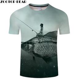 ab0e3ddf466b Fish Anime tshirt Funny t shirt 3D t-shirts Men Beauty Tee Streatwear 6XL  Unisex Top Brand Short Sleeve New Drop Ship ZOOTOPBEAR 3d shirts 6xl deals