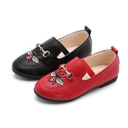 Enfants Filles Garçons Chaussures Décontractées Bande Dessinée Honeybee Semelle Souple Enfants Chaussures En Cuir Été Automne Flats Enfants Seule Chaussure 26-36 ? partir de fabricateur