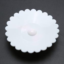 Bowknot Anti-Dust Coperchio della tazza del silicone Copertura della tazza di tè Riutilizzabile Coperchio della guarnizione del coperchio del silicone Drinkware Aspirazione Coperchio della tazza Coperchio da coperchio all'ingrosso della copertura della tazza del silicone fornitori