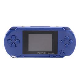 Телевизор 16 онлайн-Новая портативная игровая консоль PXP3 16-битная портативная классическая игровая консоль 2.7-дюймовый карманный игровой плеер 5 цветных детей игровой плеер