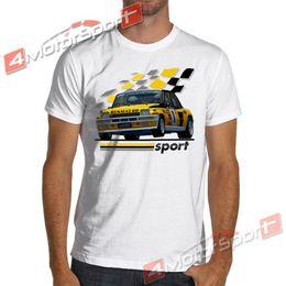Gt turbo online-1983 R5 Renault 5 Turbo Rally WRC Racinger camiseta Maxi Gt Alpine Jean Ragnotti camiseta de manga corta y talla grande