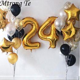 2019 balão de ouro número 21 pçs / lote 40
