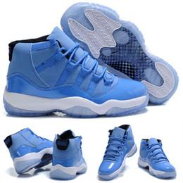 Wholesale Ultimate Orange - 2018 New 11 Ultimate Gift of Flight Blue Pantone Men Basketball Shoes 11s Beige Maroon Sports Sneakers Size 36-47