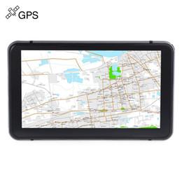 Dvd navegador carro on-line-Navegador da navegação do GPS do carro do caminhão tela de toque de 7 polegadas Ganhar o jogador audio do jogo do vídeo do E-book do CE 6,0 com o jogador livre do jogo do mapa de Pre-installed